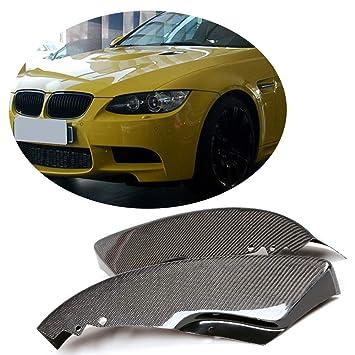 Para Bmw E92 Coupé M Sport M Tech 2007 2008 2009 2010 mcarcar Kit Front divisor personalizado de fibra de carbono BUMPER borde solapas de girasoles: ...