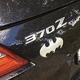 Fan Emblems Batman Car Badge, Satin Chrome