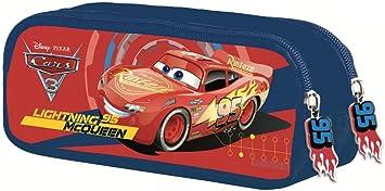 Disney Cars 3 - Estuche con 2 Compartimentos: Amazon.es: Equipaje