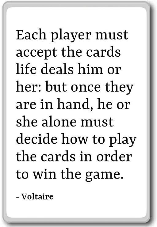 Ogni Giocatore Deve Accettare Le Carte Life Deals Lui O