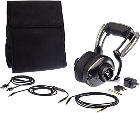 6ft Black Gold-Plated USB 2.0 Cable for Blue Mo-Fi Headphones w//Built-In Audiophile Grade Amp