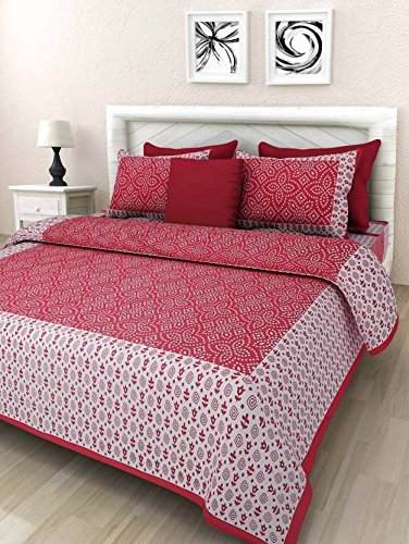 Bed Zone Cotton Double Bed Sheets