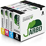 JARBO compatibile Canon PGI-2500 XL Cartucce d'inchiostro (1 Nero,1 Ciano,1 Magenta,1 Giallo) Compatible with Canon MAXIFY MB5050 MB5350 iB4050