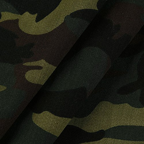 Coupe Longues Cordon Nouveau Manteau Fermeture Automne À Camouflage Top Serrage Et Éclair Pour De Capuche Outwear Yebiral vent Veste Femmes Hiver Manches q6AfxTx
