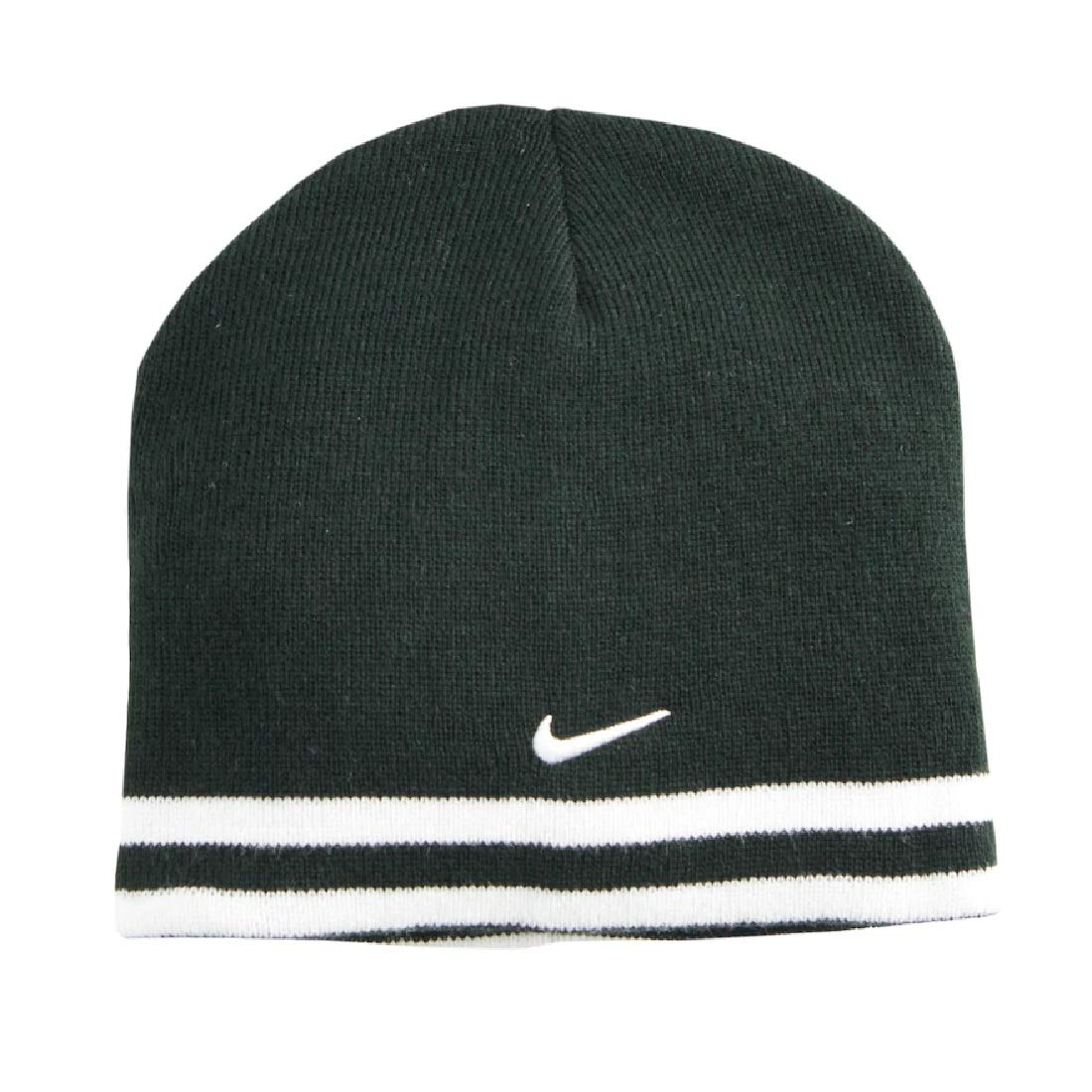Amazon.com  Nike Boys Reversible Striped Beanie Hat (Black White)  Clothing 920cb3eb7e1