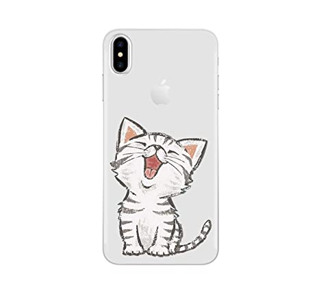 Amazon.com: Cat Case for iPhone Xs Max XR X 8 5 5S SE 6 6S 7 ...