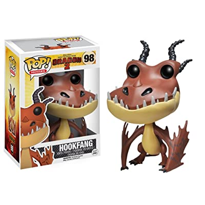 Funko POP! Movies: How to Train Your Dragon 2 - Hookfang: Funko Pop! Movies: Toys & Games