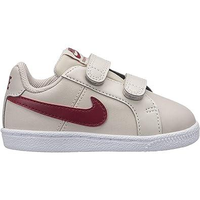 Nike Court Royale (TDV), Zapatillas de Tenis Unisex niño, (Desert Sand/Red Crush-White 008), 27 EU: Amazon.es: Zapatos y complementos