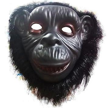 PromMask Mascara Facial Careta Protector de Cara dominó Frente Falso Animal máscara león Lobo orangután Mono