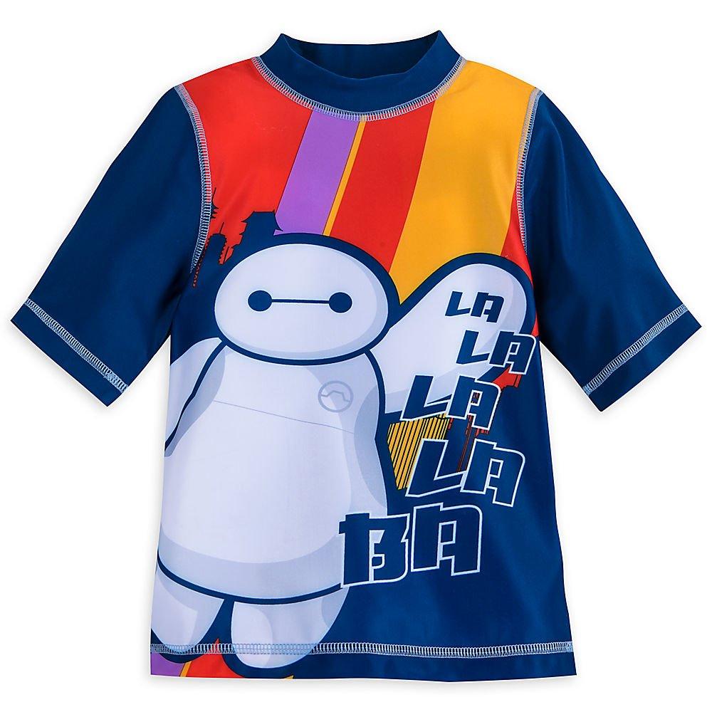 Disney Baymax Rash Guard for Boys - Big Hero 6 Size 4 458066985791