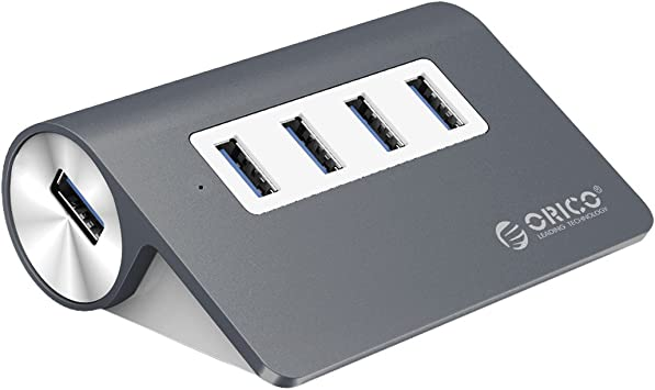 Mobile HDD XPS Notebook PC Surface Pro Anker 4-Port USB 3.0 Unibody Aluminum Portable Data Hub with 2ft USB 3.0 Cable for Macbook and More Mac Pro//mini USB Flash Drives iMac
