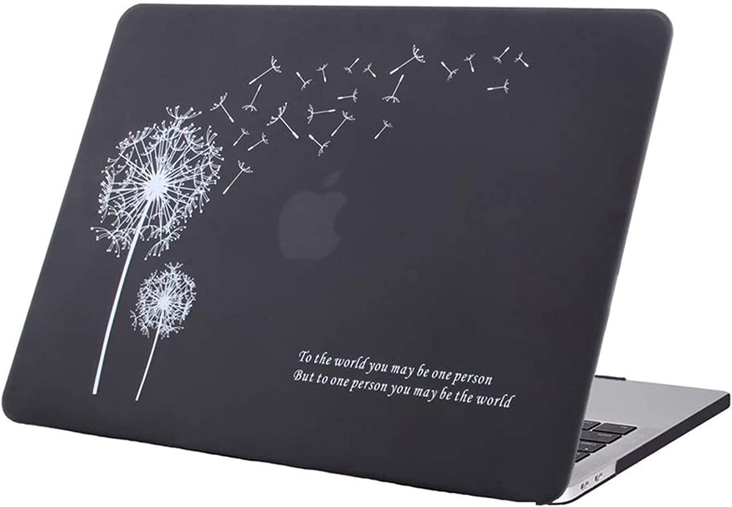 MacBook Pro 13 inch Case 2020 2019 2018 2017 2016 Release A2289 A2251 A2159 A1989 A1706 A1708, Plastic Hard Shell Case Cover&Screen Protector Compatible with MacBook Pro 13 inch, Black