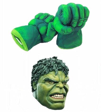 OM las manos de Hulk Big Artes Marciales para niños puños afelpado suave para guantes y