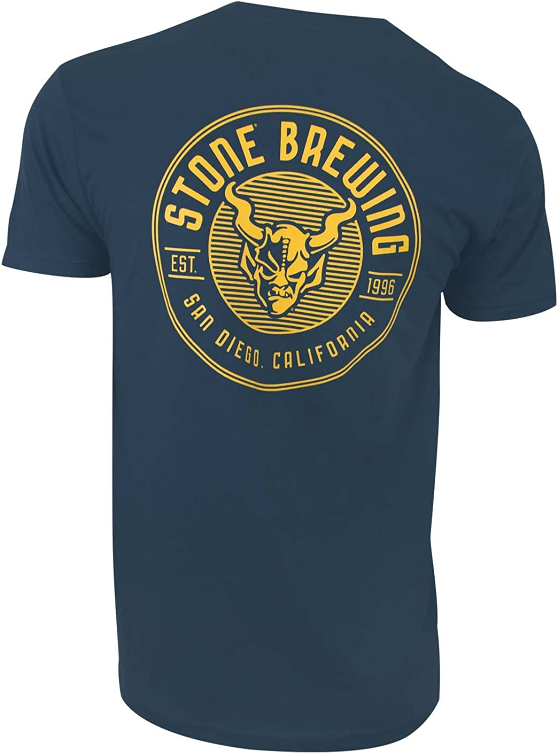 Criterion Tee Shirt Blue Stone Brewing Co