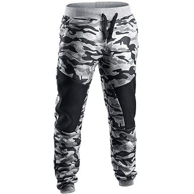 Pantalones De Camuflaje Caída De Hombres Retazos De Los Pantalones ...
