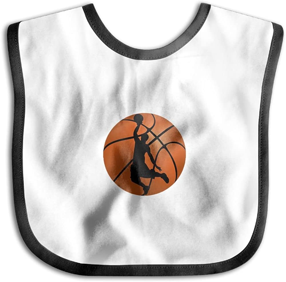 Marima Basketball Players Personalized Scarf Bib Feeding /& Teething Fancy Baby Bibs and Burp Cloth Polyester Cotton
