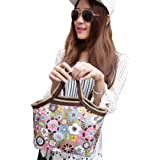 Sandistore Portable Insulated Thermal Lunch Box Tote Storage Bag Travel Picnic