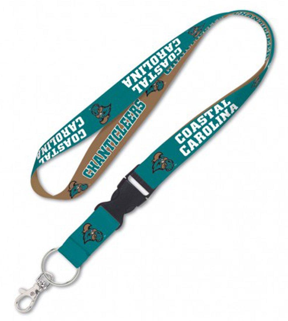 23 inches long WinCraft Coastal Carolina Chanticleers Premium Lanyard Key Chain 1 inch wide