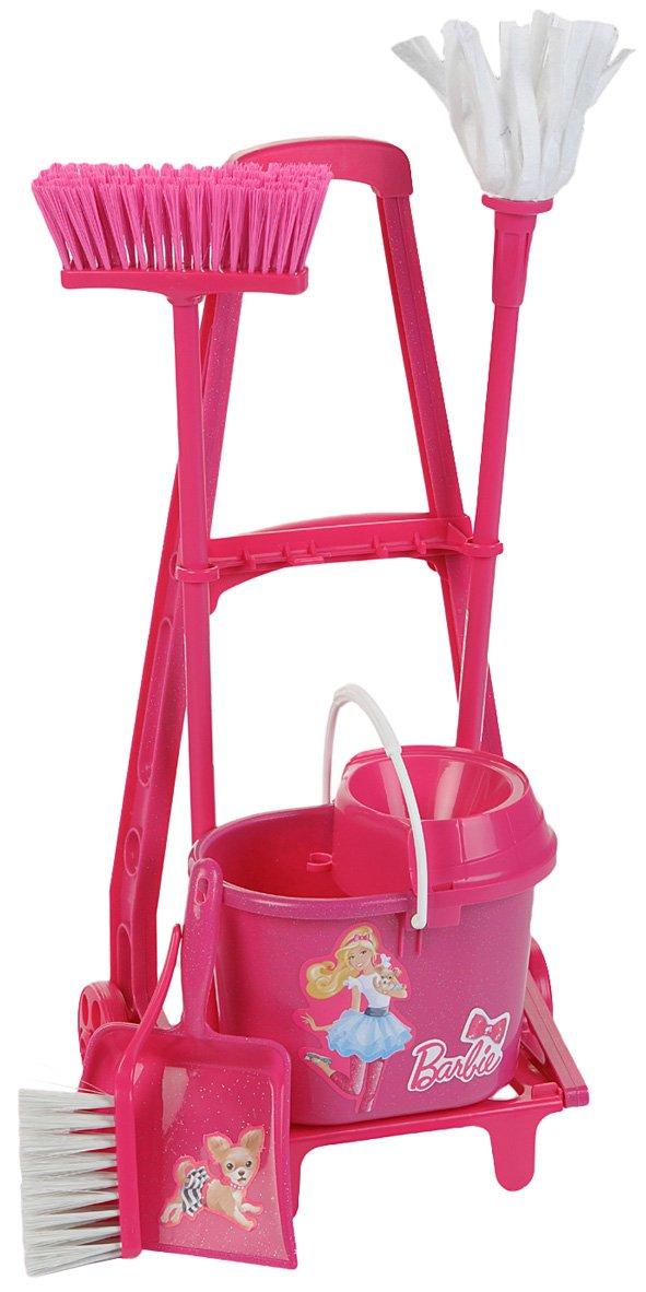 Theo Klein 6352 - Barbie Carrito De Limpieza: Amazon.es: Juguetes y juegos