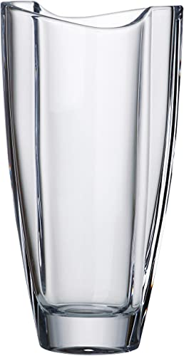 Barski – European Glass – Lead Free Crystalline – Vase – 11 Height – Made in Europe