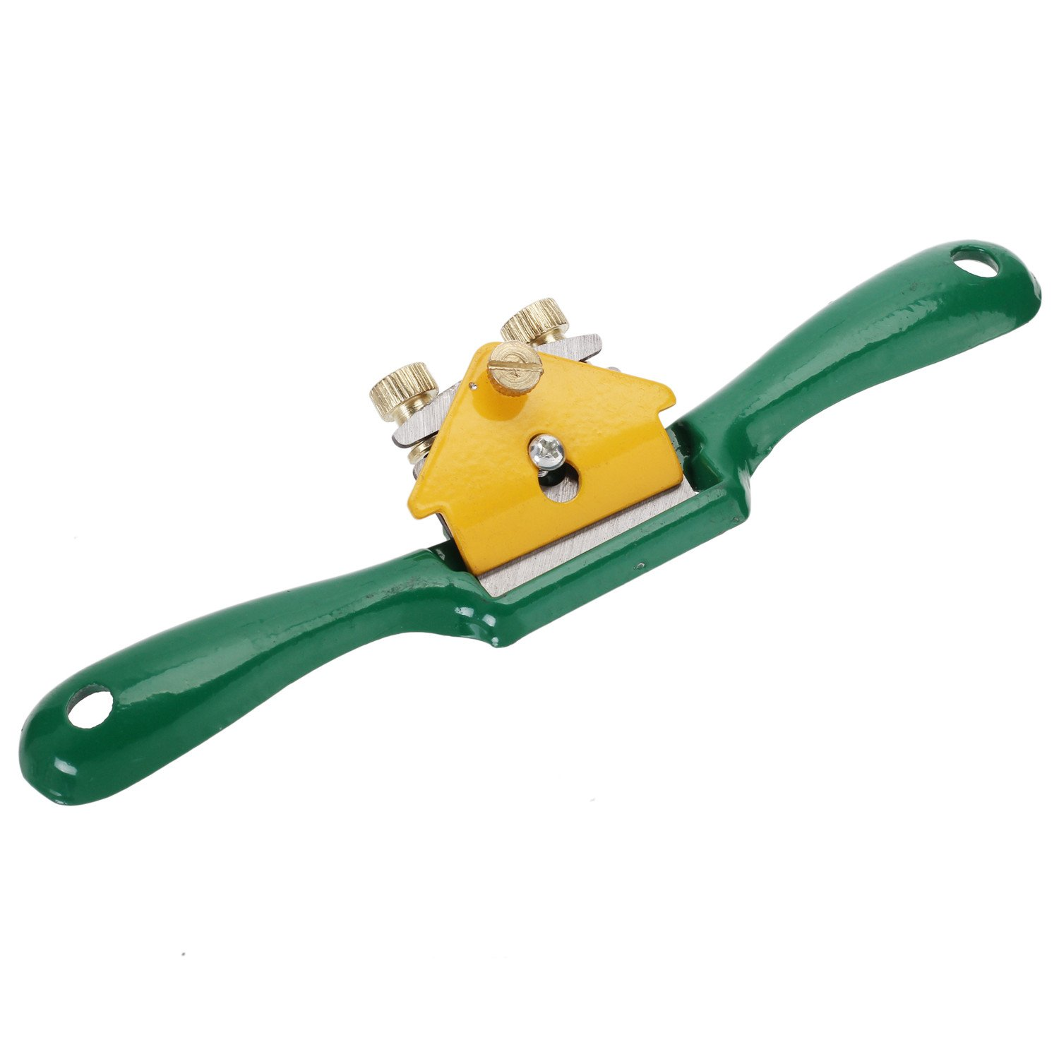 Refaxi 210mm Spoke Shave Manual Plane Planer Woodworking Blade Hand Tools Green by ReFaXi (Image #4)