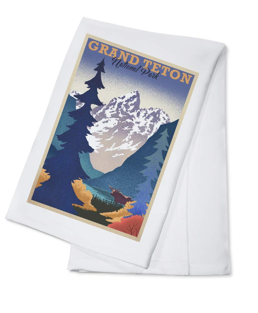 【サイズ交換OK】 グランドテトン国立公園 ワイオミング リトグラフ Canvas Tote Bag LANT-88044-TT B07GGFNYH8 Canvas Cotton Bag LANT-88044-TT Towel Cotton Towel, クマゲグン:58e01c02 --- arianechie.dominiotemporario.com