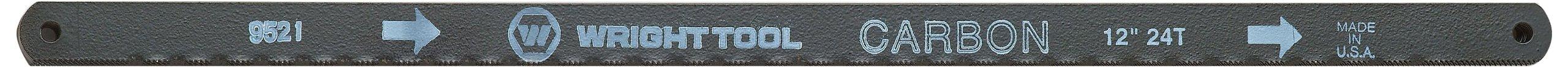 Wright Tool 9521 20/18T 12-Inch Bi-Metal Hacksaw Blade