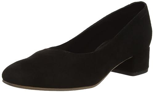 Jamilla, Zapatos de Tacón con Punta Cerrada para Mujer, Negro (Black 20), 38 EU Vagabond