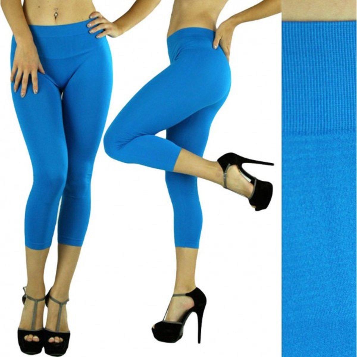nouveau produit images détaillées dernier style Mari Clare Women's Short Legging, Capri Pant