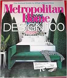 Metropolitan home magazine may 2007 volume 39 no 4 donna warner books for Metropolitan exteriors inc reviews