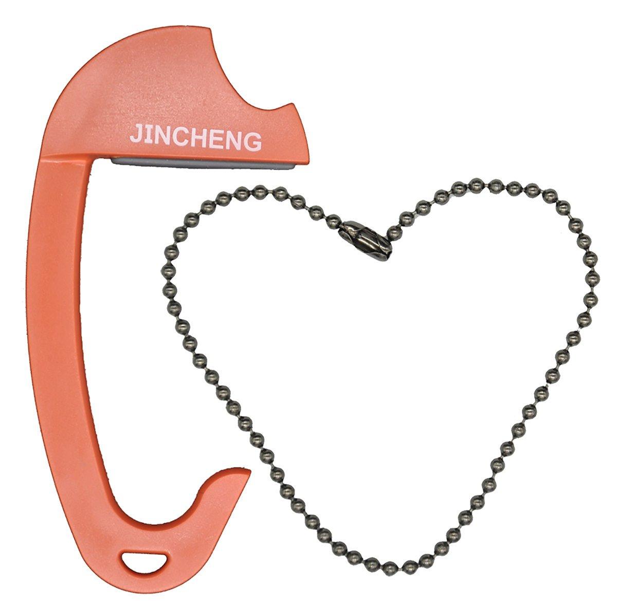 Jincheng Accroche-Sac pour Table pu Voiture, Crochet Portable pour Sac Jusqu'à15 Kg Poids Maximal,Couleur Marron