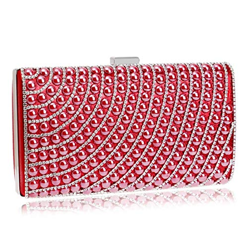 Small Clutch Bag Fly53 Diamond Square Color FLY Bag evening 1 Lady Multicolor Dinner bag Evening Red Dress 4tXXvrq