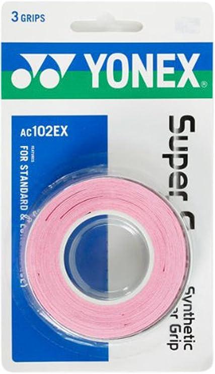Yonex Super Grap Overgrip 3 Pack 2 Pack Orange