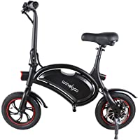 "Windgoo Bicicleta Electrica 36V Plegable - E-Bike 12"", Actualizar Bici Electrica Urbana Ligera para Adulto"