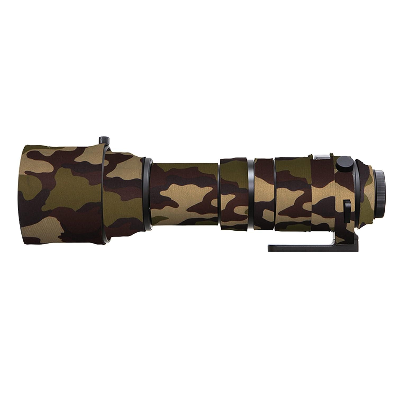 Selens 150 –  600 mm sport in gomma obiettivo della fotocamera mimetica di cappotto per Sigma 150 –  600 mm S camuffamento verde HemgMing for Sigma 150-600S camouflage green