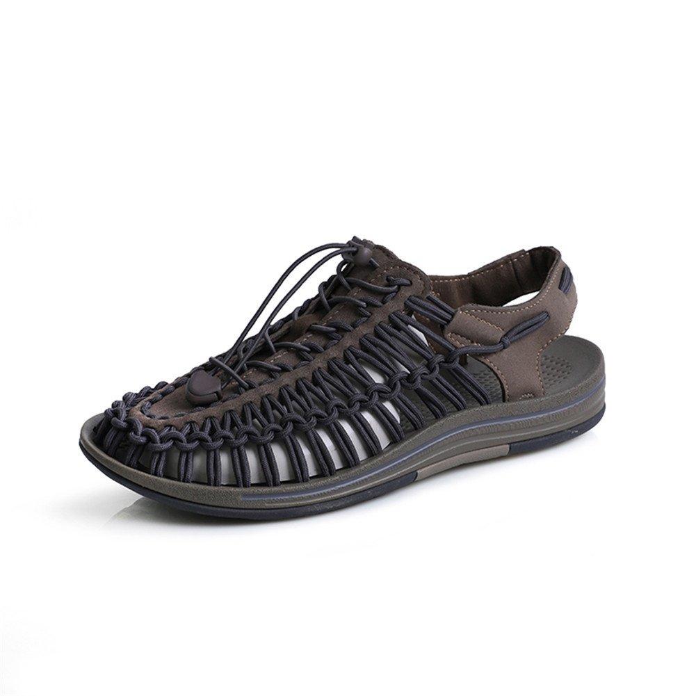 Sandalias Deportivas Verano Senderismo Hombres Zapatos Trekking Playa, khaki, 39 EU 39 EU|khaki