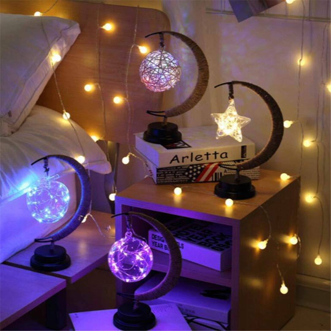 L06 Nachtlicht Pentagram Dekoration Einfache ins Nachtlicht Stern Lichtschalter Weiches Licht Dekoration Tisch StudentenwoHöheim Hause Schlafzimmer