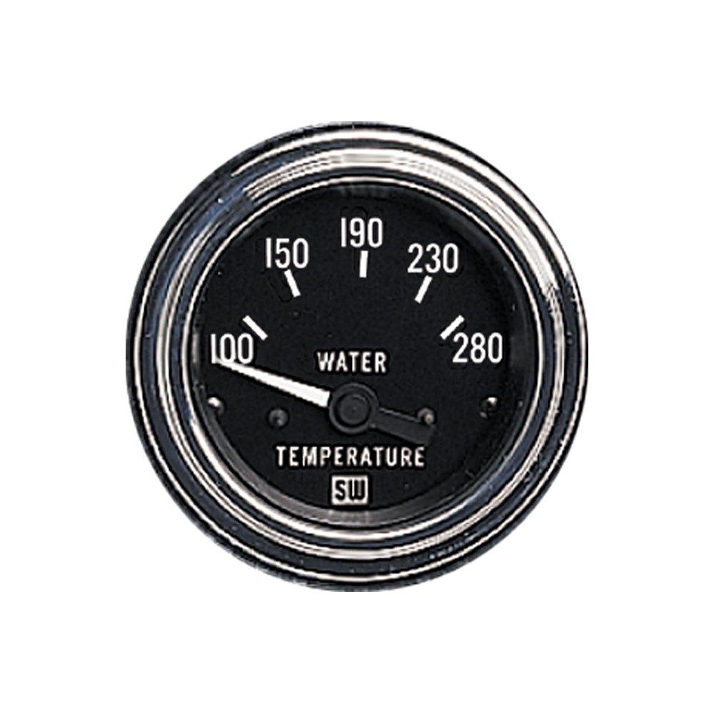 Stewart Warner 82307 Deluxe 2 1 16 Water Temperature Fuel Gauge Wiring Diagram Electric Automotive