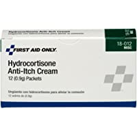 12 Pack First Aid Only Hydrocortisone Anti-Itch Cream Packet Deals