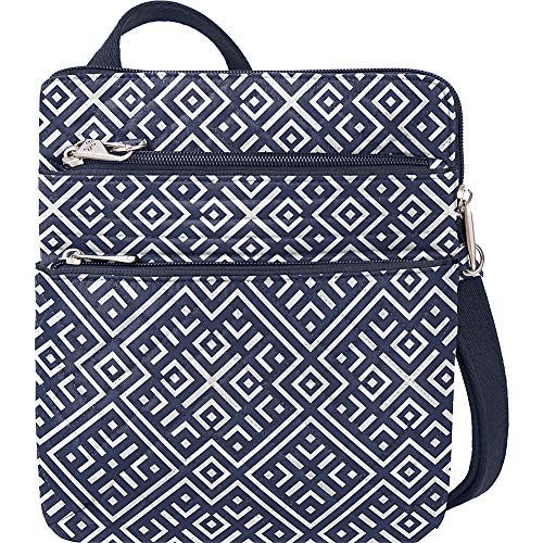 Travelon Anti-Theft Boho Slim Bag Travel Cross-Body, Mosaic Tile, One Size