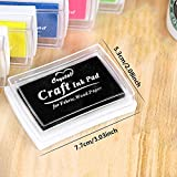 Stamp Pads, UBEGOOD Washable Ink Pads for