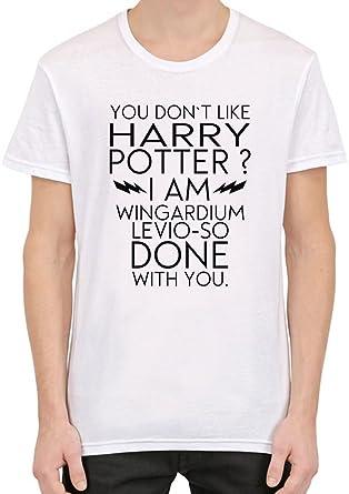 mieux aimé bon service style populaire I Don't Like Harry Potter Funny Slogan T-shirt personnalisé ...