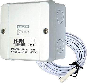 Elektrobock PT14 Raumthermostat f/ür elektrische Heizung