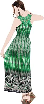 Green Jersey Casual Dress For Women