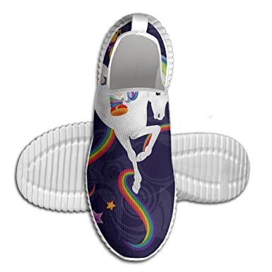 Rainbow Brite Soft Running Shoes Lightweight Sport Sneakers