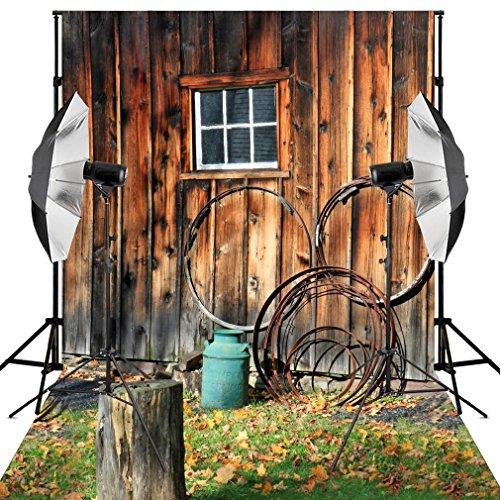 kooer-5x7ft-old-blockhouse-small-window-stump-background-wood-vinyl-fabric-photography-backdrops
