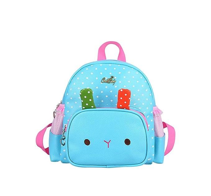 07dd4af53a1f Dorapocket Kids 3D Cute Rabbit PU Leather Nursery Backpack Kindergarten Bag
