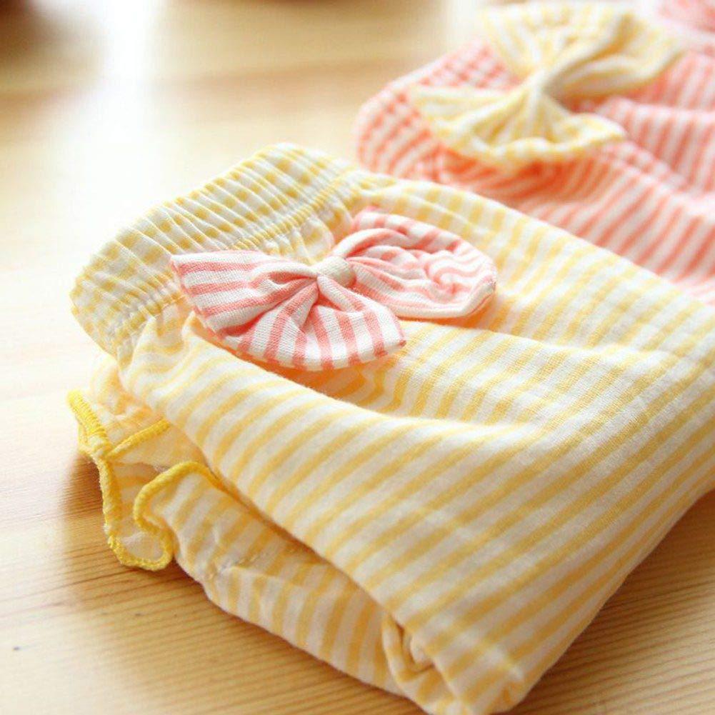 URMAGIC Baby Girls Underwear Kids Cotton Knickers Toddlers Bow-Knot Panties 0-4 Years