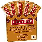 Larabar Gluten Free Bar, Peanut Butter Chocolate Chip, 1.6 oz Bars (5 Count)