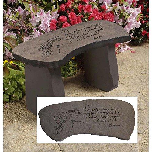 Design Toscano Leave a Trail Cast Stone Memorial Garden B...